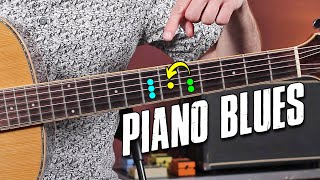 Aprende RIFFS DE BLUES Como Un PIANO