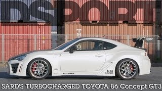 SARD's Turbocharged Toyota 86 Concept GT3 | DSPORT Magazine Feature Car