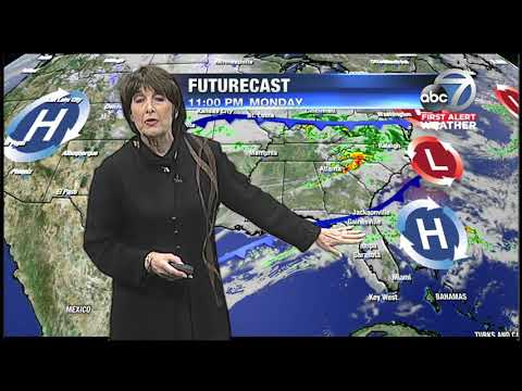 First Alert Weather - 11pm Saturday March 17, 2018
