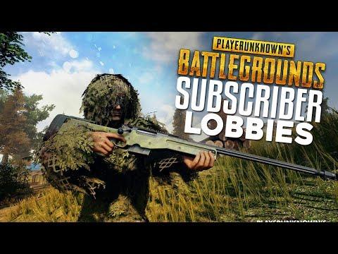 PUBG Subscriber Squads via Discord! (PLAYERUNKNOWN'S BATTLEGROUNDS)