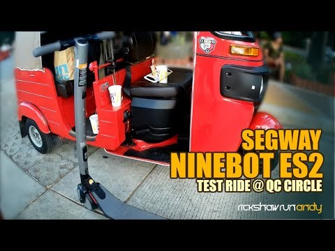 segway ninebot es2 test ride at qc circle philippines. Black Bedroom Furniture Sets. Home Design Ideas