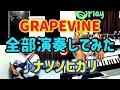 『ナツノヒカリ 』from GRAPEVINE【バンドマン、全部演奏してみた。】