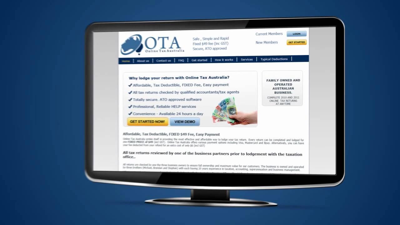 Online Tax Australia  Simple, Easy, Professional Tax Returns ($49 Fixed  Price)