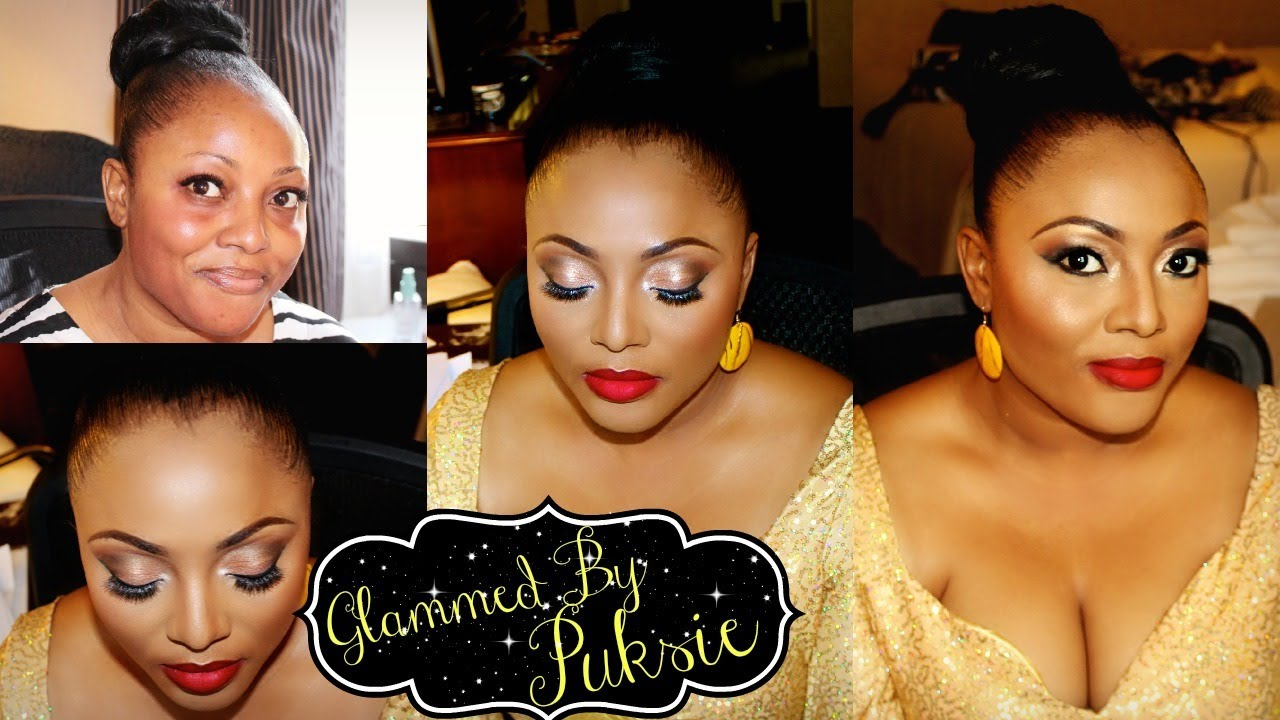 GlammedByPuksie: Hair and Makeup for Chi Chi - YouTube