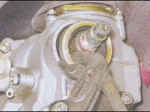 Замена сальника вторичного вала на КПП ВАЗ 2101-07.