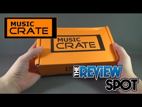 Subscription Spot - Music Crate October 2016 Subscription Box UNBOXING!