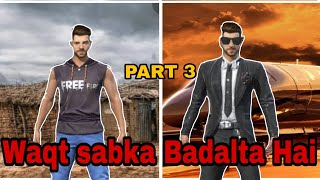 Waqt sabka Badalta Hai part 3 racing in free fire short film in Hindi/ GAMING BHAI