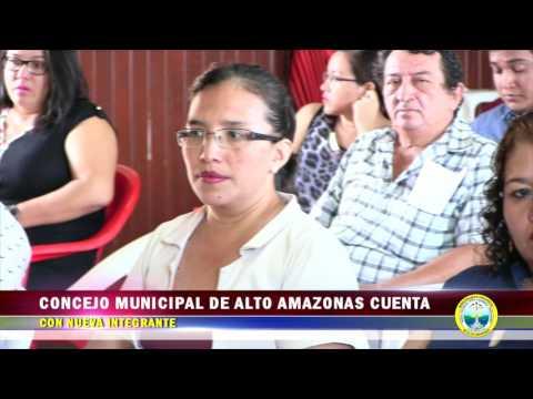 CONCEJO MUNICIPAL DE ALTO AMAZONAS CUENTA CON NUEVA INTEGRANTE