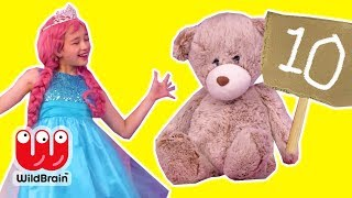 Princess Dance Battle 💃 Who Will Win The Prize? - Princesses In Real Life | WildBrain Kiddyzuzaa