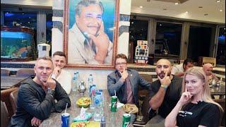 تجربة الكشرى المصرى مع اشهر طباخ  أوكرانى و سكرتير السفاره الاوكرانية / شاهد رد فعلهم 😋