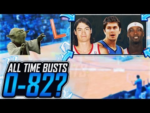 Could The ALL-TIME NBA BUST team go 0-82?