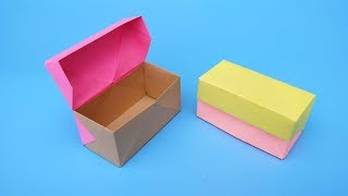 Origami  Box Tutorial 折纸:盒子教程