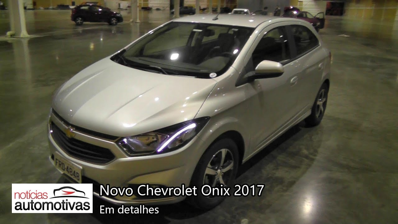hight resolution of novo chevrolet onix 2017 detalhes noticiasautomotivas com br