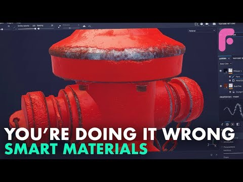 What You Get Wrong About Smart Materials in Substance Painter