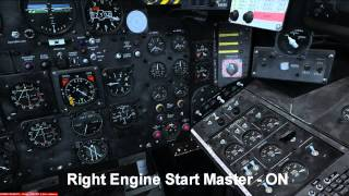 Engine Start Up Guide For The Canberra PR9 From Just Flight