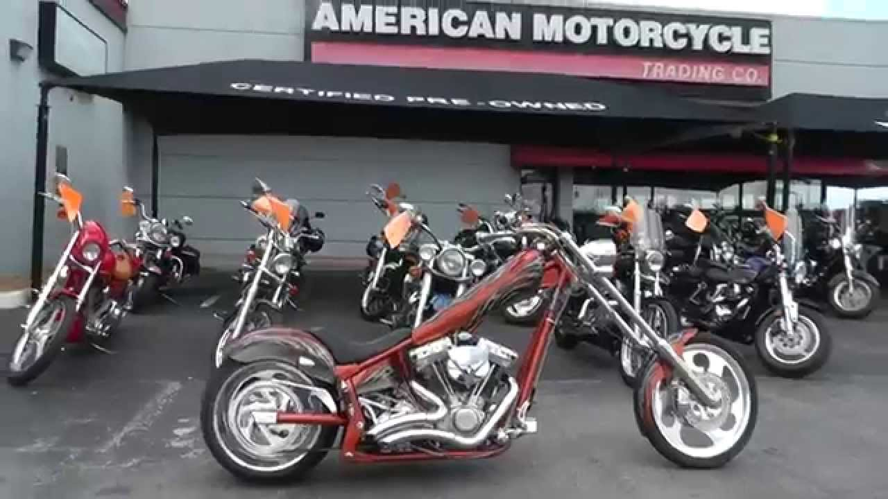 000472 - 2005 American Ironhorse Texas Chopper - Used Motorcycle For Sale