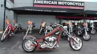000472 - 2005 American Ironhorse Texas Chopper - Used Motorcycle For Sale - Stafaband