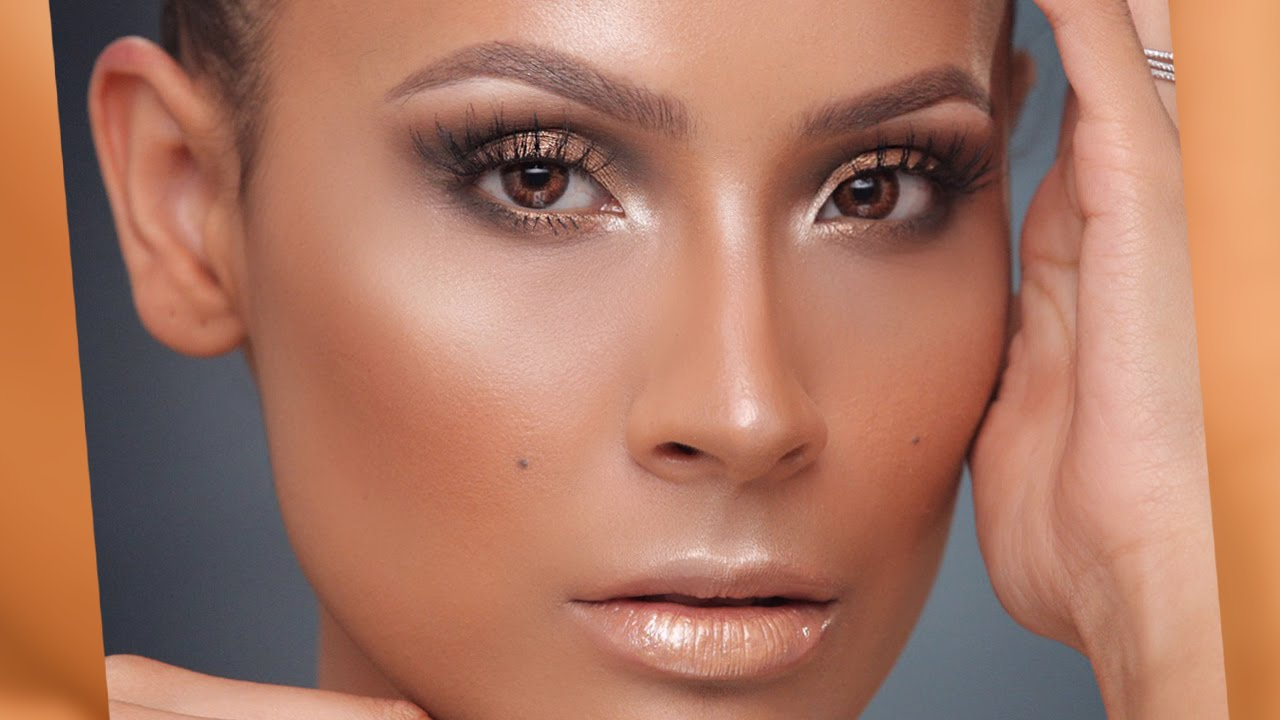 Jlo Glow Gold Smokey Eye YouTube