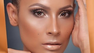 Jlo Glow - Gold Smokey Eye