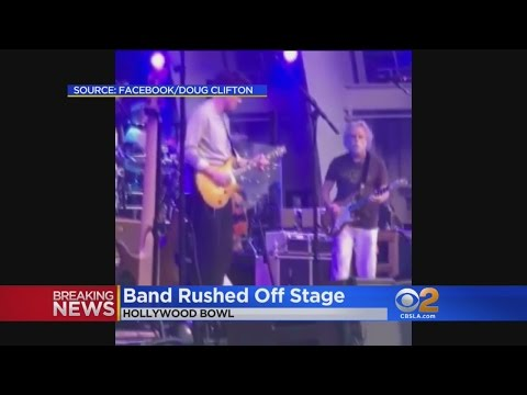 Dead & Company Show Interrupted at Hollywood Bowl, Prompting Security Fears