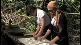Настоящие хинкали в грузинских горах