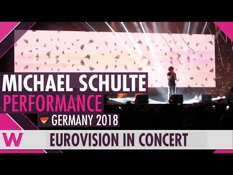 """Michael Schulte """"You Let Me Walk Alone"""" (Germany 2018) LIVE @ Eurovision in Concert 2018"""