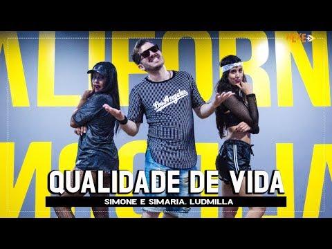 Qualidade de Vida - Simone e Simaria part Ludmilla - Coreografia  Mexe+