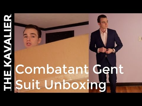 Unboxing My Combatant Gentleman Suit | Made to Order Review