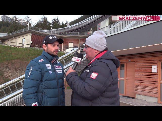 Oberstdorf rozmowa z Michalem Doleżalem (13.10.2020)