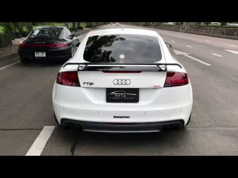Audi Tts 8j Mk2 W Armytrix Valvetronic Exhaust By Hitzproject