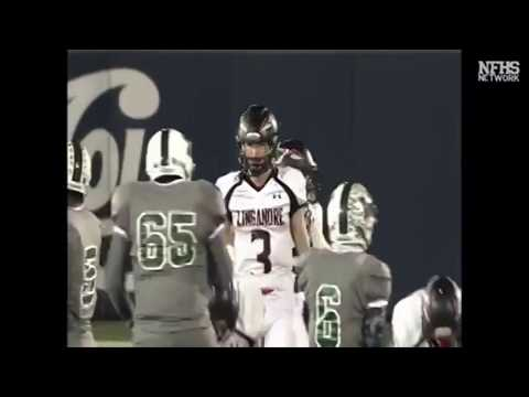 2017 Linganore Lancers vs Milford Mill Millers MD 3A Football Championship