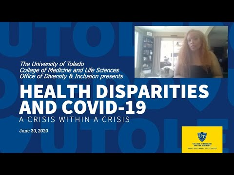 UTCOMLS Roundtable Discussion Health Disparities and COVID-19 June 30 2020