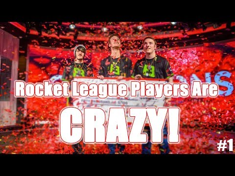 ROCKET LEAGUE PLAYERS ARE CRAZY #1 (Insane goals and funny moments) thumbnail