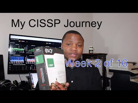 my-cissp-journey-week-2-|-16-weeks-to-cissp