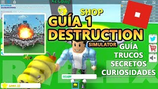 Destruction Simulator CODES, Zone 20 and Weapon of BEES, Roblox Spanish Tutorial Tutorial 1