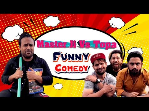 Master Ji Vs Topa Funny Comedy -Team Zaibu Ki Paathshaala