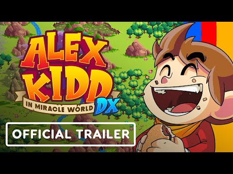 Alex Kidd in Miracle World DX - Exclusive Official Release Date Trailer