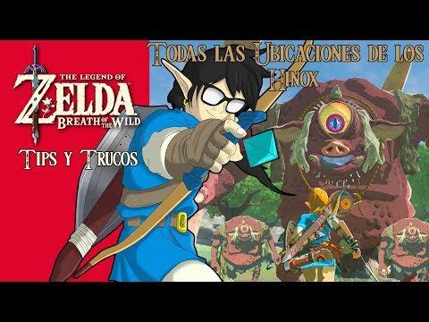 The Legend of Zelda: Breath of the Wild | Tips y Trucos | TODAS las Ubicaciones de los Hinox