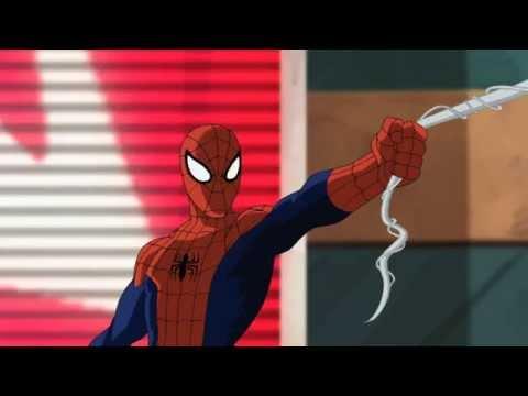 Мультик человек паук мультфильм человек паук