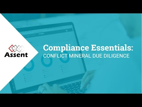 [Webinar] Compliance Essentials: Conflict Mineral Due Diligence