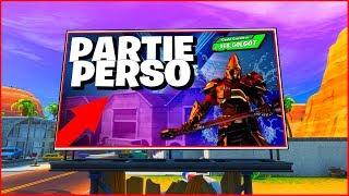 LIVE GAGNE TON PASSE DE COMBAT SAISON 10 - PARTIE PERSO FORTNITE FR