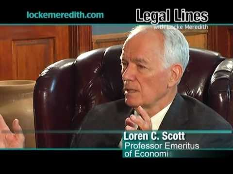 Dr. Loren Scott, Economist, discusses the Economy in Baton Rouge on Legal Lines with Locke Meredith