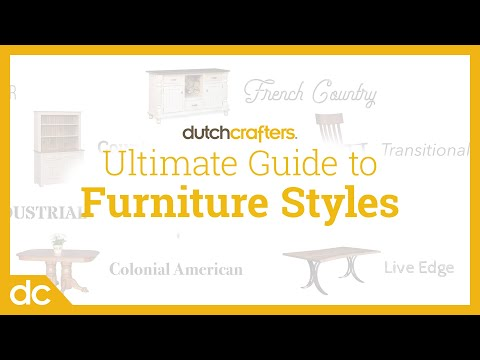 Furniture Styles Guide (The Top 12 Furniture Styles)