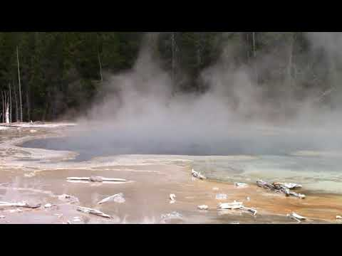 Solitary Geyser History in Yellowstone National Park