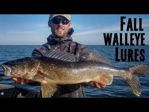 Best Fall Walleye Lures