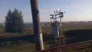 . Минск. Поездка на поезде Москва-Брест (Республика Белоруссия)