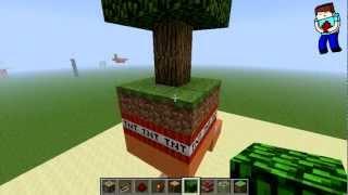 [Minecraft] Урок 57: Ловушка! взрывное дерево!
