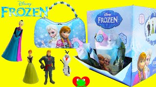 Frozen Figurine Blind Bags with Elsa and Anna Tin Purse
