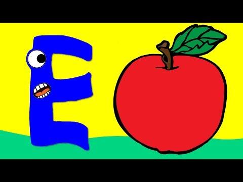 CEVİZ (WALNUT) | Learn Turkish Alphabet with ABC Fruits