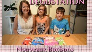 #Dégustation - Bonbons Haribo et Skittles